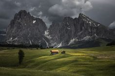 The storm comes to Alpi di Siusi Photo by James Rushforth — National Geographic Your Shot
