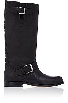 Belstaff Hoxton Moto Knee Boots - Knee Boots - Barneys.com