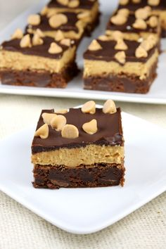 Peanut Butter Cookie Dough Brownies 8