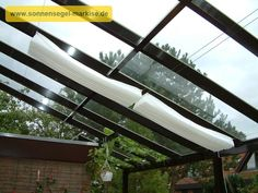 3. Seilspanntechnik Universal - InDoor & OutDoor - ideal für die Innenbeschattung Glasdach