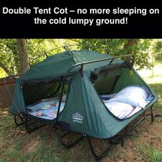 Tent cot amazing