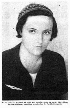 Paulina (Lina) Odena García.