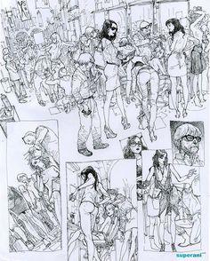 Backstage #kimjunggi #illustration #drawing #sketchbook  via ✨ @padgram ✨(http://dl.padgram.com)