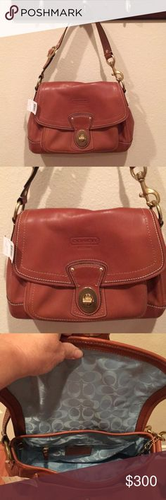 Coach Leather Bag NWT In perfect condition, color is Whiskey. F12854 Coach Bags Shoulder Bags
