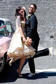 Cute! I love all the tulle on the bottom of the dress too