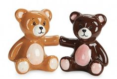 Teddy Bears Salt and Pepper Shakers. http://florenceandgeorge.com