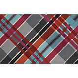 Plaid rug from CB2