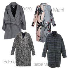 """Grey with a twist"" by stefania-fornoni on Polyvore featuring moda, Kenzo, Marni, Isabel Marant e Balenciaga"