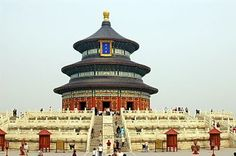 The Temple of Heaven July 2010  I went to China with my bestie and my mother. We went sightseeing in Beijing for a week.