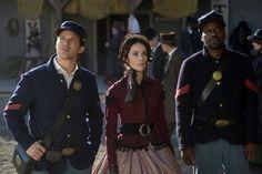 "TIMELESS (The Assassination of Abraham Lincoln) ""Aril 15, 1865""  Wyatt Logan, Lucy Preston & Rufus Carlin"