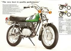 Show us your mini bike. Small Motorcycles, Yamaha Motorcycles, Vintage Motorcycles, Sport Motorcycles, Mx Bikes, Cool Bikes, Sport Bikes, Yamaha 125, Retro Scooter
