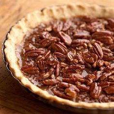 Honey crunch chocolate pecan pie Shelled pecans can be kept in the refrigerator for up to 8 months and in the freezer for up to 2 years. Pull them out to make this scrumptious pie!