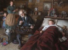 Morgan Weistling - The Country Doctor - LIMITED EDITION PRINT from the Greenwich Workshop Fine Art Gallery featuring fine art prints, canvases, books, porcelains and gift ideas. Pierre Bonnard, Mary Cassatt, Frank Dicksee, Hans Holbein, Frank Stella, Winslow Homer, Fra Angelico, Wayne Thiebaud, Paul Gauguin