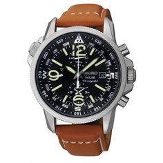 Seiko Watches near Richmond. Seiko Men's Leather Band Chrono Watch. Explore the collection at Elegant Jewelers shop or online.