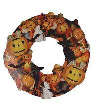 "Bethany Lowe Large 19"" Halloween Die Cut Wreath RL1918 New"