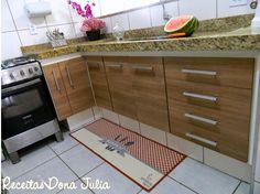 Passadeira xadrez da coleção Bella Cozinha da Aroeira Home - Veja minha cozinha!
