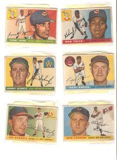 1950's Topps baseball cards