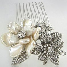 Discover Regina B bridal & evening wear hair accessories at Perfect Details.  Gorgeous vintage inspired hair jewelry & combs in crystal & mother of pearl flowers. Define your style.