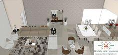 Construindo Minha Casa Clean: Consultoria de Decoração com 3D: Salas de Estar e Jantar Maravilhosas!