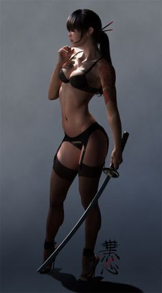 Katana Beauty, art and misticism...