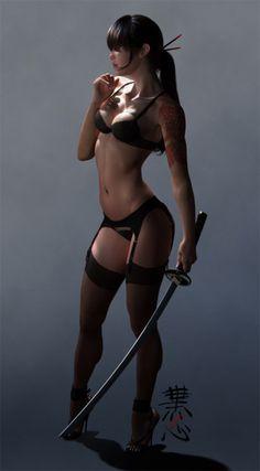 #Samurai. Damn !!!!!!!