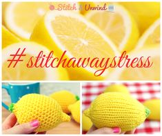 When Life Gives You Lemons... #stitchawaystress