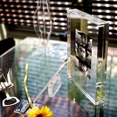 Perspex photo frames