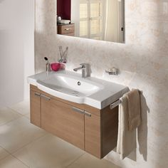 Nice Understated elegance with Sentique Siphonic bathroom furniture collection Villeroy u Boch