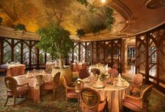 Villa del Palazzo Restaurant at Kerzner's The Palace of the Lost City at Sun City, South Africa