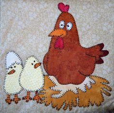 Farm animal applique PDF baby quilt pattern; shoo fly block; boy or girl Down on…