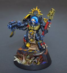 Flameon Miniatures: Finished Terminator Chaplain