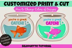 Easily Change Colors of Silhouette Print and Cut Files