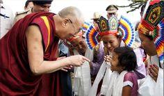 Tumkur University and Sera Je Monastery in Tumkur, Karnataka, India, on March 6, 2013. (Photo by Tenzin Taklha/OHHDL)  #dalailama