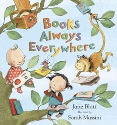 Book Review @ https://thereaderandthebookreviews.wordpress.com/2015/08/11/books-always-everywhere-by-jane-blatt/