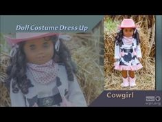 Doll Costume Dress Up (Part 2 of 2) - SEWING WITH NANCY - YouTube
