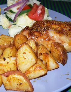 Aldi recipe - roasted rosemary red potatoes and chicken