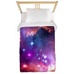 vivid nebula Hubble NASA gift Twin Duvet