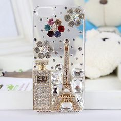 Crystal Case for iPhone 5 # vancaro Cell Phone Cases, Iphone Cases, Girly Gifts, Handmade Design, Plastic Case, Cell Phone Accessories, Ipad, Crystals, Diy