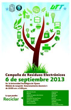 Campaña de #Residuos Electrónicos #Reciclar #Cuervos