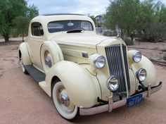 1935 Packard 120 Two door coup....