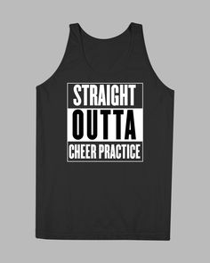 Straight Outta Cheer Practice Tank - Cheer! Gear