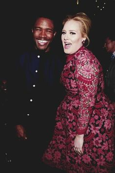 Adele and Frank Ocean only a little bit ridiculously amazing