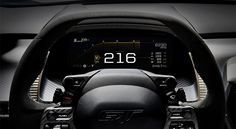 Ford GT Digital Cockpit, tecnología para la velocidad - http://autoproyecto.com/2017/01/ford-gt-digital-cockpit.html?utm_source=PN&utm_medium=Pinterest+AP&utm_campaign=SNAP