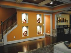 Recessed Display Shelvesnot Many We Had One In Our Dayton House And I Loved It