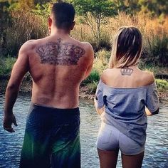 Cute Couple Tattoos 30
