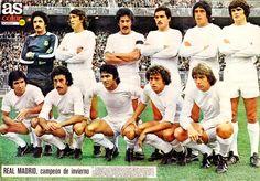 Equipos de fútbol: REAL MADRID 1970-1980