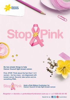 The Stop & Pink raises funds & awareness for Cancer Council's Pink Ribbon in NSW so we are able to support those affected by breast cancer. http://www.pinkribbonfundraiser.com.au