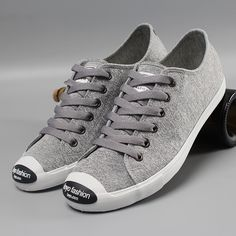 Grey Jersy With Black Rubber Patch On Toe