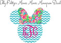 A personal favorite from my Etsy shop https://www.etsy.com/listing/228299547/lilly-pulitzer-inspired-minnie-mouse