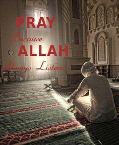 Pray only for Allah <3